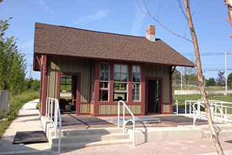 CTfastrak Railroad Depot Building