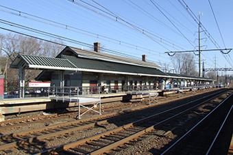Darien Train Station
